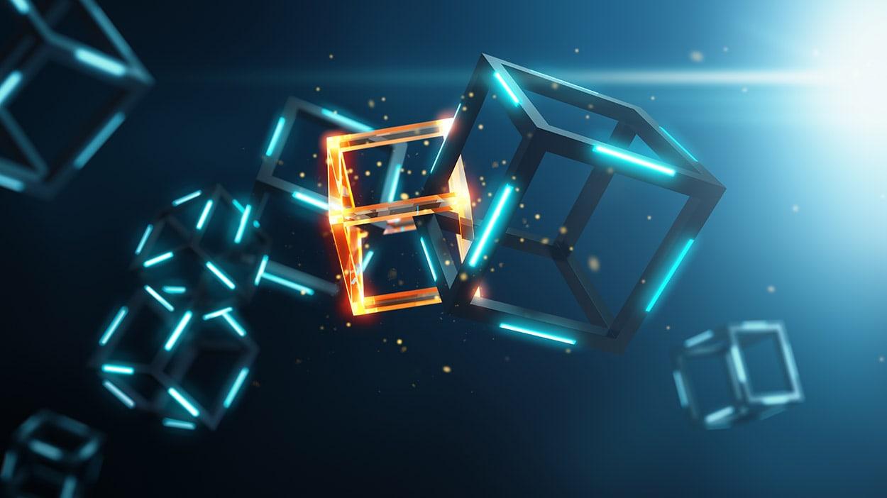 blockchain blocks colliding